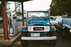 Toyota FJ40 Landcruiser (dave.see) Tags: road old 2 classic car truck 35mm canon offroad 4x4 mark 14 off retro ii toyota land 5d fj cruiser bower fj40 crusier samyang rokinon 5d2