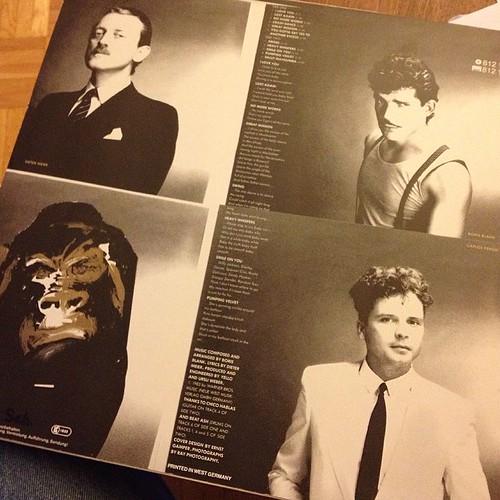 Die Klassiker ehren. #yello #vinyl #vintage #ECHO2014
