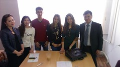 "Predavanja studentima master studija na Nacionalnom univerzitetu u Kazahstanu <a style=""margin-left:10px; font-size:0.8em;"" href=""https://www.flickr.com/photos/89847229@N08/13758691513/"" target=""_blank"">@flickr</a>"