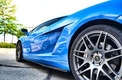 Lamborghini Gallardo (Chad Horwedel) Tags: blue illinois exotic import lamborghini gallardo sportscar lambo bolingbrook lamborghinigallardo supercarsaturday mucielago promenademall