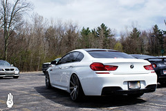BMW 650i xDrive Gran Coupe (Brandon Bailey Design/Photography) Tags: bmw 650 gran eastside coupe motoring vossen 650i