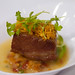 """Michael Jordan's Steakhouse - Carmelized Bacon with Clams Casino Broth (Golden Rasher Award for Most Creative Use of Bacon Friday Dinner) - Baconfest 2014.jpg • <a style=""""font-size:0.8em;"""" href=""""http://www.flickr.com/photos/124225217@N03/14062941641/"""" target=""""_blank"""">View on Flickr</a>"""