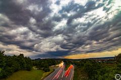 Rainstorm (MSPhotography-Art) Tags: nature clouds trekking germany landscape deutschland outdoor natur wolken landschaft gewitter wandern severeweather wanderung metzingen badenwrttemberg weinberge