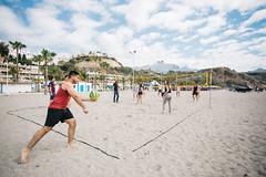 Volley (Leo Hidalgo (@yompyz)) Tags: people espaa love film beach canon photography eos reflex spain random cam like playa dslr mlaga nerja 6d fotografa vsco ileohidalgo yompyz