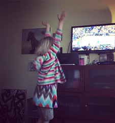 Me: who is that? Roxie: number 30! that's Steph Curry! (while cheering and bouncing on the trampoline) #warriors (Roxie's Flickr) Tags: me 30 that is 26 who may steph trampoline curry number while warriors thats cheering roxie bouncing 2016 instagram 0812pm httpswwwinstagramcompbf5sotmw2vm