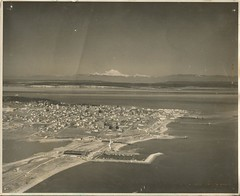 """undated 8"""" x 10"""" aerial view of Port Townsend, Washington (912greens) Tags: old washington porttownsend aerials cityviews"""