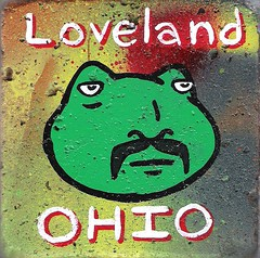 Frogman (Andy Finkle Art) Tags: ohio monster illustration cartoon frog loveland lettering mustache cryptozoology cryptid finkle
