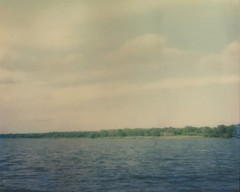 At the Lake (dreamscapesxx) Tags: polaroid instant boatride ontheboat atthelake seminolefl polaroidspectra2 lakeseminolepark theimpossibleproject snapitseeit impossiblecolorfilm