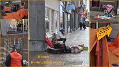 Koud en verlaten (Ilona67) Tags: feest hoorn nederland april regen oranje koud vrijmarkt koningsdag