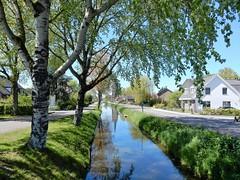 Schalkwijkse Wetering (bcbvisser13) Tags: bomen nederland eu dorp schalkwijk huizen wetering