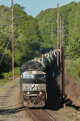 NS 17G @ Feasterville, PA (Darryl Rule's Photography) Tags: sun spring ns may ge freight westbound morrisville eastbound norfolksouthern 24k emd intermodal oxfordvalley sd70ace traintrains mixedfreight morrisvilleline 17g trentoncutoff cpjohn morrisvilleyard feasrerville