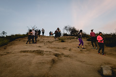 * (Dmaq1024) Tags: city sunset canon los angeles canyon hike locks 6d runyon 35l