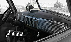Dashboard Confessional (pam's pics-) Tags: auto old chevrolet abandoned car vintage automobile colorado chevy co smalltown northerncolorado pammorris pamspics sonya6000