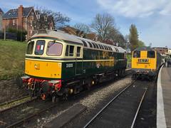 D6515 + 20142 Swanage (daveymills31294) Tags: diesel 33 railway class 330 20 gala swanage 2016 20142 33012 d6515