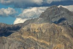Lignes de roches (Corinne Queme) Tags: summer mountain france alps lines clouds landscape rocks queyras rochebrune