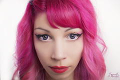 Portraits for Pastel Dreams contact lenses: Chryssanthi (SpirosK photography) Tags: chryssanthi pasteldreams contactlenses product portrait highkey spiroskphotography studio