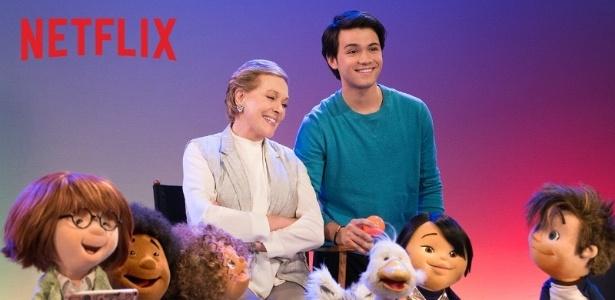 """Julie Andrews estrela """"Na Sala da Julie"""", série infantil do Netflix"""