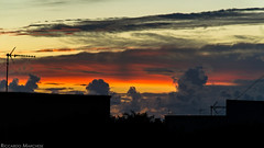 Cloudy colorful sunset (BryzePhoto) Tags: life light sunset sky italy panorama orange love nature colors beautiful clouds lights amazing colorful tramonto nuvole emotion cloudy gray natura sicily lovely emotions colori sera colorexplosion crepuscolo campobellodimazara