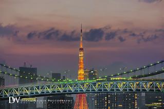 Tokyo Tower Rainbow