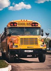 Yellow Bus (Velvet Pines) Tags: school bus