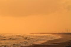 A scenic sea shore (mihir_dhandha) Tags: ocean sea seascape beach water landscape coast seaside haze sand waves scenic seashore