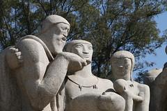 Monumento s Bandeiras (quanaval_sp) Tags: brazil brasil landscape sopaulo paisagem sampa sp ibirapuera