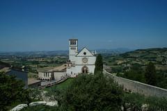 Assisi. (coloreda24) Tags: italy canon europa europe italia perugia assisi umbria 2014 canonefs1785mmf456isusm canoneos500d chiesediassisi