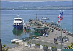 Le port d'Yvoire (wilphid) Tags: lac bateau lman hautesavoie yvoire chablais