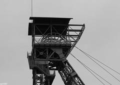 Zollern II IV (wpt1967) Tags: bw mining sw frderturm ruhrgebiet dortmund zeche ruhrpott coalmining canon50mm industriekultur zechezollern pitframe zollerniiiv eos60d wpt1967