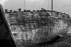 OLD (skysthelimit333) Tags: wood old rotting lancashire woodenboat oldboat skippool rottingboat