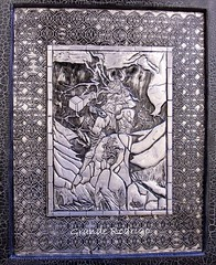 Тор (Cacaio Таварес - Arte Relevo ет Metal) Теги: искусство металла арте Prata тиснение Боливийский repujado чеканные latonagem metaloplastia