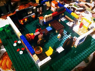 R's lego coffee shop