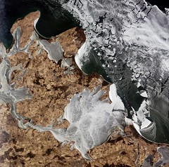 Earth from Space: Rgen on the rocks (europeanspaceagency) Tags: european balticsea agency esa alos rugen jaxa europeanspaceagency jasmundnationalpark