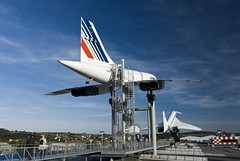Air France Concorde at The Auto & Technik Museum Sinsheim (dkjphoto) Tags: auto travel tourism car museum germany airplane fly flying europe tour russia antique aircraft aviation flight technik tourist concorde russian airliner airfrance supersonic tupolev badenwrttemberg sinsheim tu144 tupolevtu144 dennisjohnson autotechnikmuseumsinsheim wwwdenniskjohnsoncom