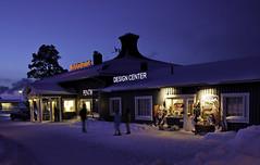 Saariselka Ski Resort, Finnish Lapland (Voimäki) Tags: winter sunset snow finland aurora lapland nightshots bluelight saariselka