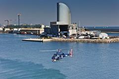 Barcelona en helicóptero