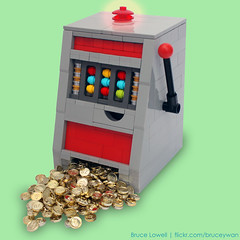 LEGO Slot Machine (bruceywan) Tags: las vegas money coin lego bruce machine casino slot photostream winning lowell moc ib1 ironbuilder brucelowellcom ironbuilderblcom ibblcom blcomib1