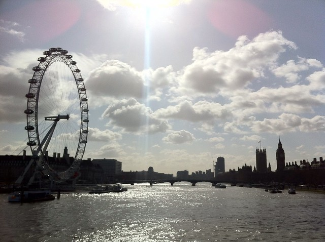 Solar storm in London