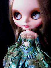 Bejewelled dress
