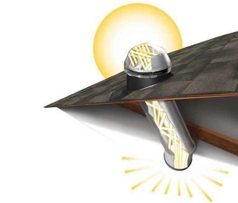 tragaluces iluminacion solar