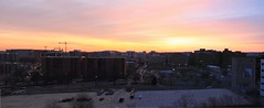 Sunrise, Mount Vernon Triangle, Washington, D.C. (aadair4) Tags: sunrise washingtondc nw sunrisemerge