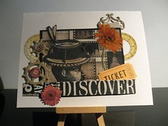 Discover (artwolf2009) Tags: man card discover stempelwinkel