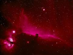 Barnard 33 - The Horsehead nebula (Mickut) Tags: orion ngc2024 ic434 horsehead hydrogen horseheadnebula alnitak flamenebula narrowband ngc2023 barnard33 Astrometrydotnet:status=solved Astrometrydotnet:version=14400 komakallio sxvrh18 Astrometrydotnet:id=alpha20120250033051