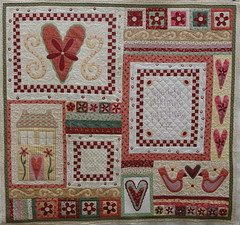Give Thanks Quilt (QOB) Tags: quilt quilted patchwork applique qob longarmmachinequilted rosaliequinlandesign quiltsonbastings