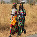 Fulani women on the way back from the market