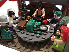 Lets Make A Deal (sok117) Tags: lego scarecrow ivy killer croc joker bane riddler twoface posion