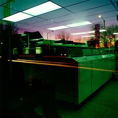 (PJAYMOODY) Tags: sunset fuji hasselblad velvia laundry milwaukee 100 80mm