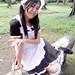 Lizarose Javier as Ritsu Tainaka ( maid uniform )