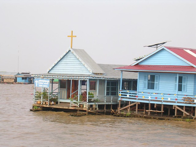 Water-Front Church and Home