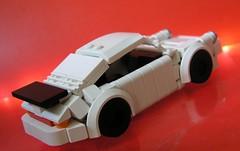 Zeto Porsche (ORRANGE.) Tags: white black car deutschland lego 911 vince porsche orders orrange 930 bricklink zeto